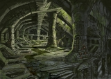 Nordisches Hügelgrab Ruine